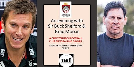 Mental Wellbeing - An Evening with Sir Buck Shelford & Brad Mooar tickets