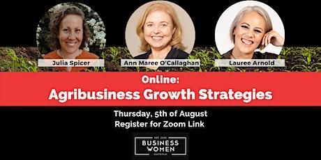 Online, BWA: AgriBusiness Growth Strategies biglietti
