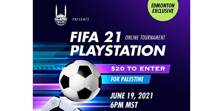 FIFA21 for Palestine | Edmonton tickets