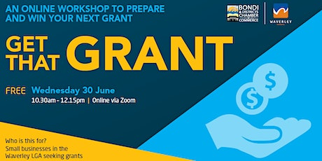 GET THAT GRANT !  .. Preparing Finishing and Winning your next Grant tickets