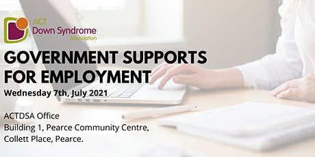 Government Supports for Employment tickets