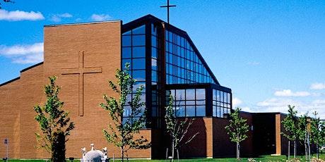 St.Francis Xavier Parish- Saturday Mass Service - June 19, 2021  5  PM tickets