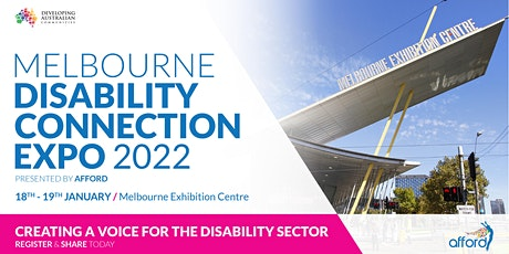 Melbourne Disability Connection Expo 2022 tickets