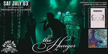 THE HUNGER live in concert tickets
