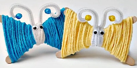 Yarn butterflies (Kandos Library, ages 6-8) tickets