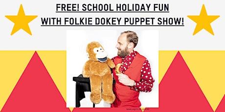 Folkie Dokey Puppet Show School Holiday Fun @Inverloch Library tickets