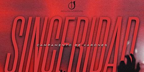 """""""SINCERIDAD"""" Campamento de Varones 2021 tickets"""