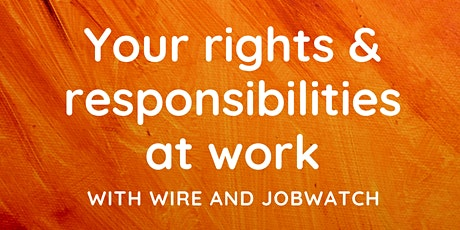 JobWatch - Information Seminar tickets