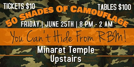 4th Friday The Camouflage Party tickets