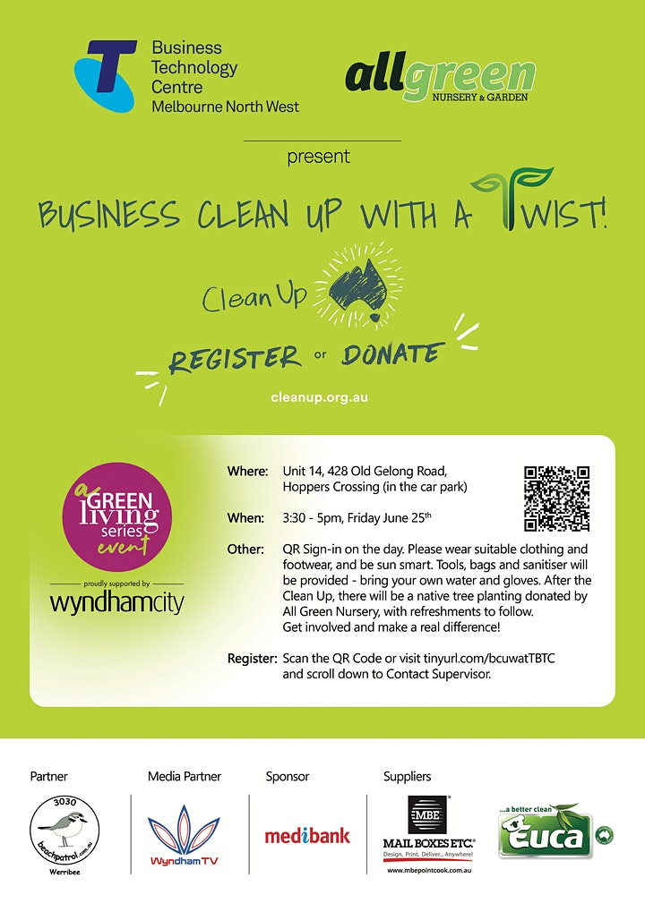 Business Clean Up With a Twist image