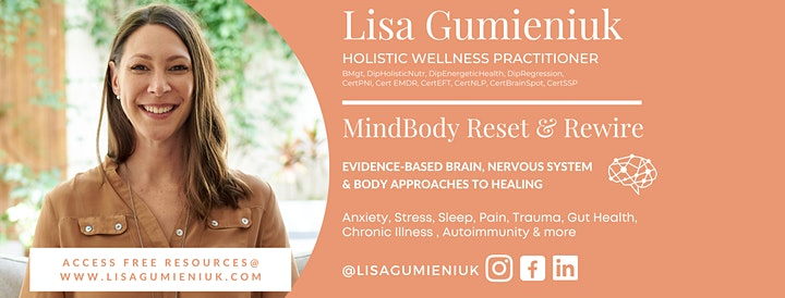 How to Reset Anxiety & Stress Workshop image
