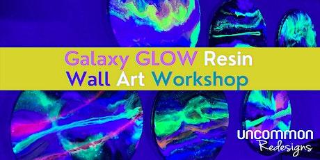 Galaxy GLOW Resin Art Workshop tickets