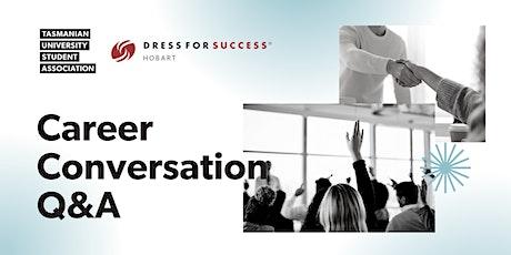 TUSA Career Conversation Workshop tickets