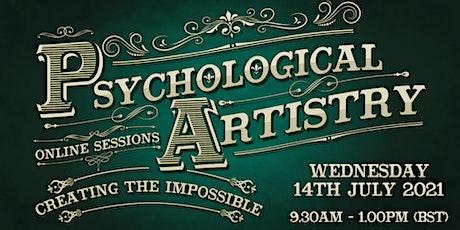Psychological Artistry Online Session. tickets