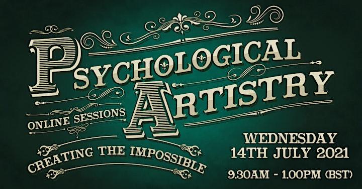 Psychological Artistry Online Session. image