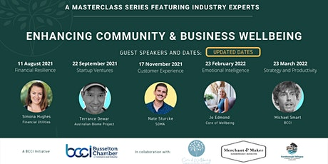 ENHANCING COMMUNITY AND BUSINESS WELLBEING tickets