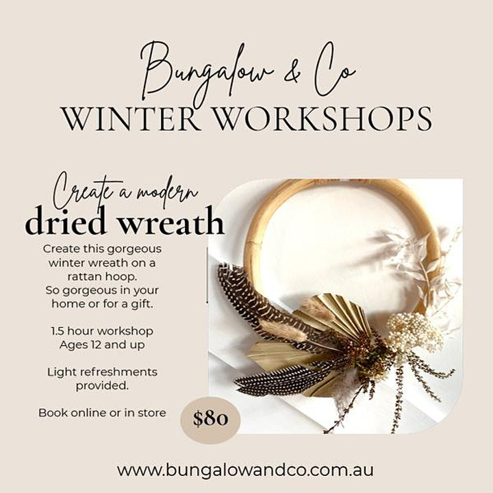 Create a Dried Wreath image