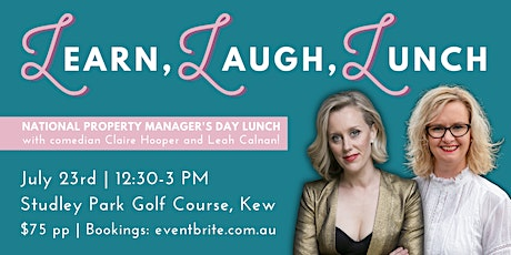 National Property Manager's Day Lunch  w/ comedian Claire Hooper tickets
