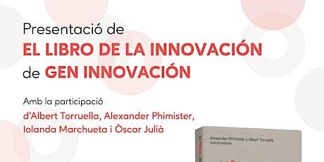 """Presentación """"El libro de la innovación"""" en Madrid entradas"""