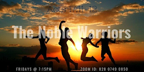Noble Warriors Bible Discussion tickets