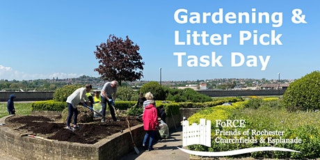 Gardening and Litterpick Task Day  on Rochester Esplanade Park (am session) tickets