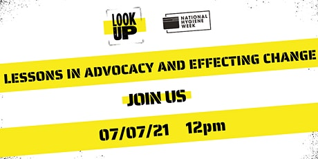 National Hygiene Week: Lessons in advocacy and effecting change tickets
