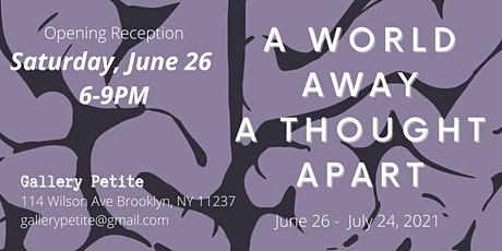 A World Away, A Thought Apart tickets