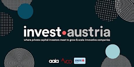invest austria Tickets