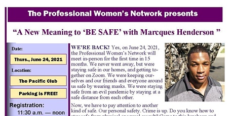 Professional Women's Network In-Person Luncheon tickets