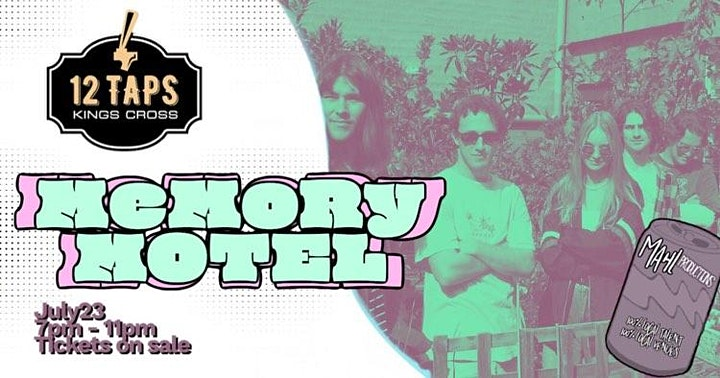 Memory Motel Single Launch : live at 12 Taps! image
