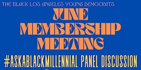 BLAYD June Membership Meeting Tickets