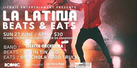 LA LATINA : Beats & Eats Latin Music & Food Event tickets