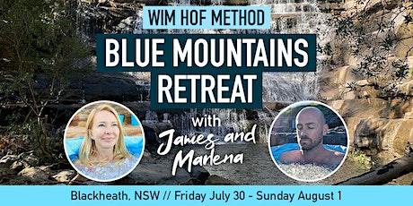 Wim Hof Method Blue Mountains Retreat tickets