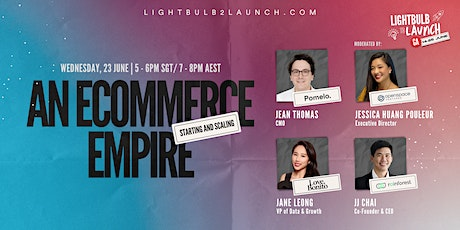 Starting and Scaling An Ecommerce Empire tickets