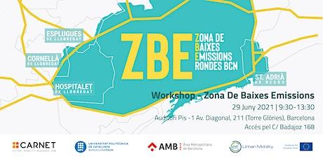 Workshop - Zona Baixes Emissions entradas