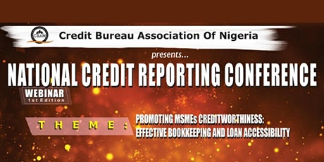 CBAN National Credit Reporting Conference Webinar (1st Edition) tickets