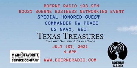 The Boost Boerne Business Networking Event tickets