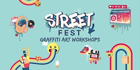 School Holiday Street Art & Graffiti Workshops at Canberra Centre tickets