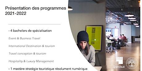 Présentation des programmes Gsf 2021-2022 billets