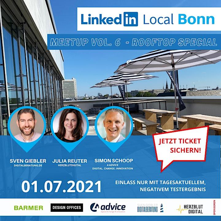 LinkedIn Local Bonn | #LiLoBonn Vol. 6 | Rooftop-Summer-Meetup ☀️: Bild