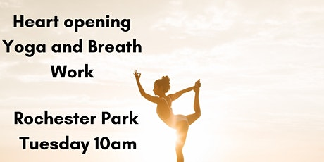 Morning Yoga and Breath Work - Heart Opening tickets
