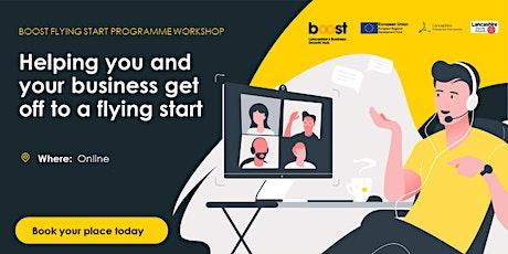 Flying Start: Business Model Canvas Webinar tickets