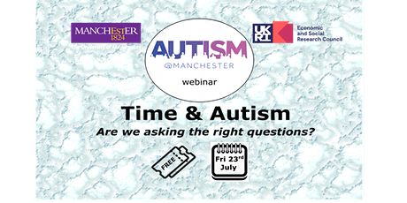 Time and Autism: Are we asking the right questions? tickets
