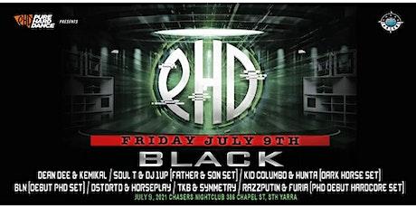 PHD Pres. PHD BLACK tickets