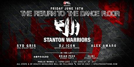 Opel presents Stanton Warriors: tickets
