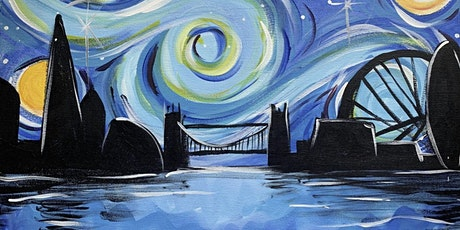 Paint and Sip - Starry Night over London tickets