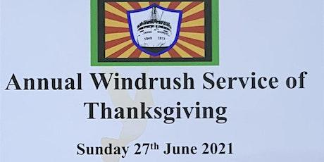 Windrush Thanksgiving Service tickets
