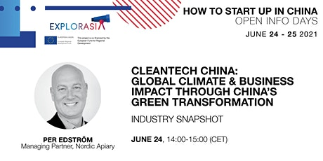 CleanTech China: Climate & Business Impact through Green Transformation tickets