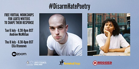 Disarm Hate x Poetry workshop: guest tutor Andrew McMillan tickets