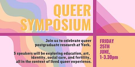 York Graduate Queer Symposium tickets